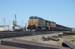UP6431 south awaits for a new crew to aboard the loaded coal train