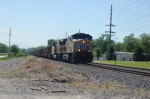 UP 5984 eastbound loaded coal train at eureka mo