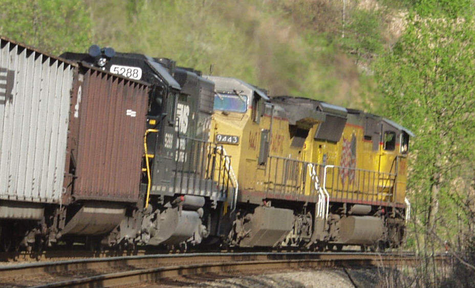 Union Pacific Power in Virginia