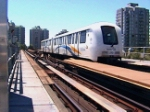 Skytrain - Vancouver Bound at speed-