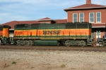 BNSF 329 sits in the middle position of this 3 engine lashup