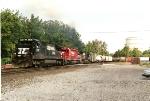 NS 8702 leads CP train 556