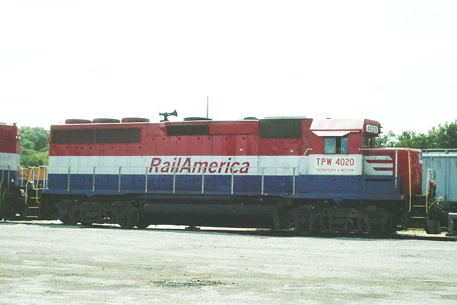 TP&W GP 40 4020