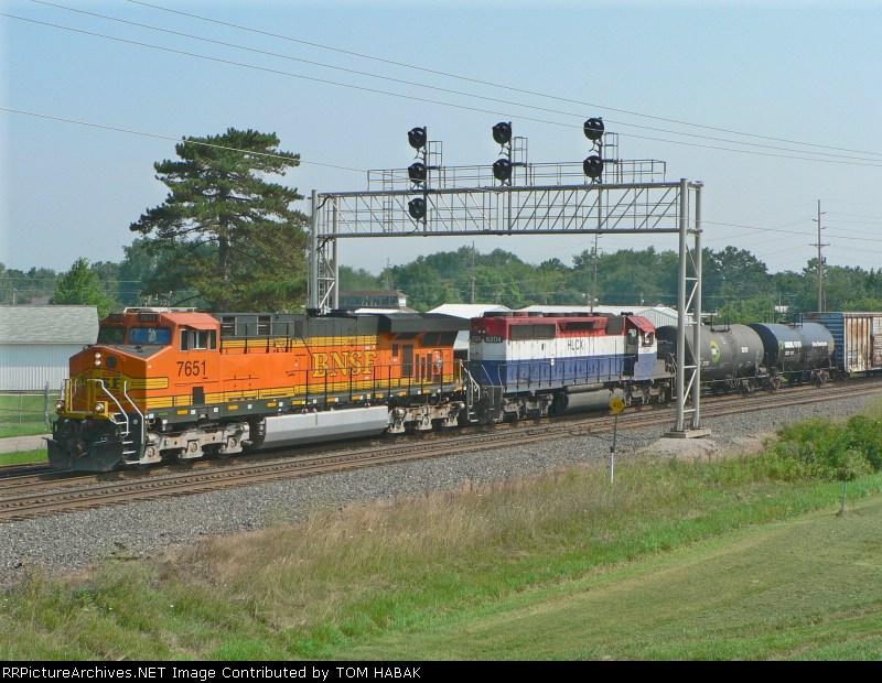 BNSF 7651