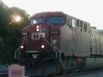 CP 510 leaving East Binghamton Yard.