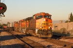 BNSF 5089 chasing the sun