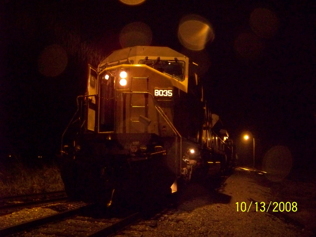 UP SD90/43MAC 8035