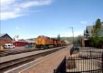 BNSF 4521 at Flagstaff Depot, Flagstaff AZ