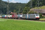 Mainline Basel - Bern: BLS Cargo 186 496