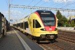 Mainline Basel - Bern: SBB 521 017
