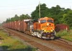 BNSF 6003 ES44AC leads NS 328 Ingersoll Ontario CN Dundas sub