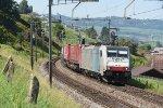 Switzerland - Along Lake Zug: TX Logistik 186 108