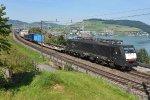 Switzerland - Along Lake Zug: SBB Cargo International 189 987