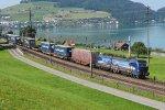 Switzerland - Along Lake Zug: SBB Cargo International 193 534