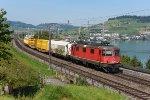 Switzerland - Along Lake Zug: SBB Cargo 420 322