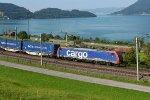 Switzerland - Along Lake Zug: SBB Cargo International 474 017