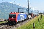 Switzerland - Along Lake Zug: SBB Cargo 484 003
