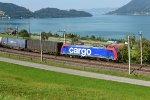 Switzerland - Along Lake Zug: SBB Cargo 484 005