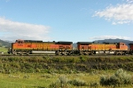 BNSF 5368 and 4390