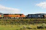 BNSF 5258 and MRL 351