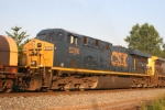 CSX 5298 is a wide cab