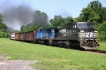 Ex-Conrail Locomotives On 18G @1012 hrs...