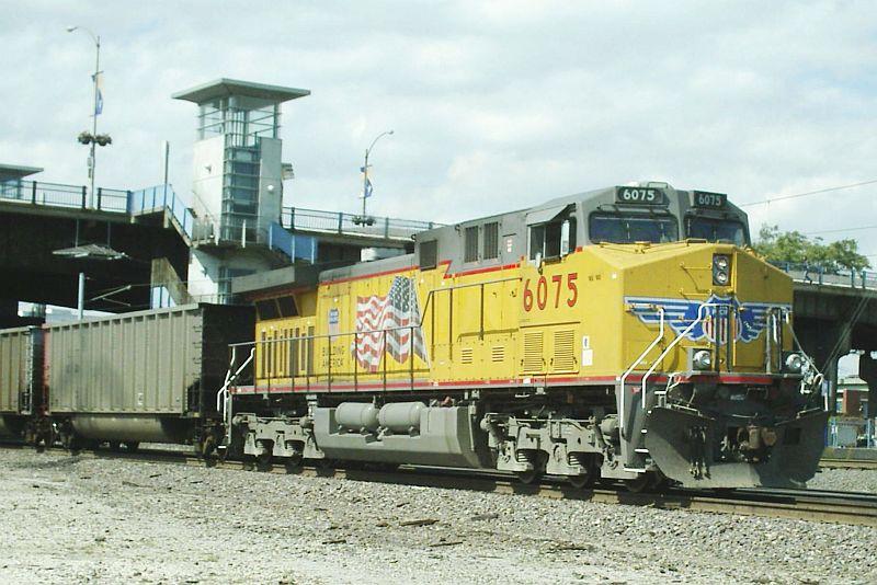 UP AC 4400CW CTE 6075