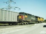 UP AC 4400CW 6322 On the rear of a UCEX empty coal train leaving the Ameren UE Plant