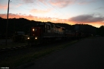 Southern Pacific sunset