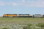 BNSF 9885 and 9654