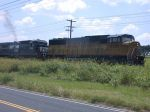 UP 6281  3Aug2004  NB with Stacks in SNEED