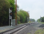 New siding and signals