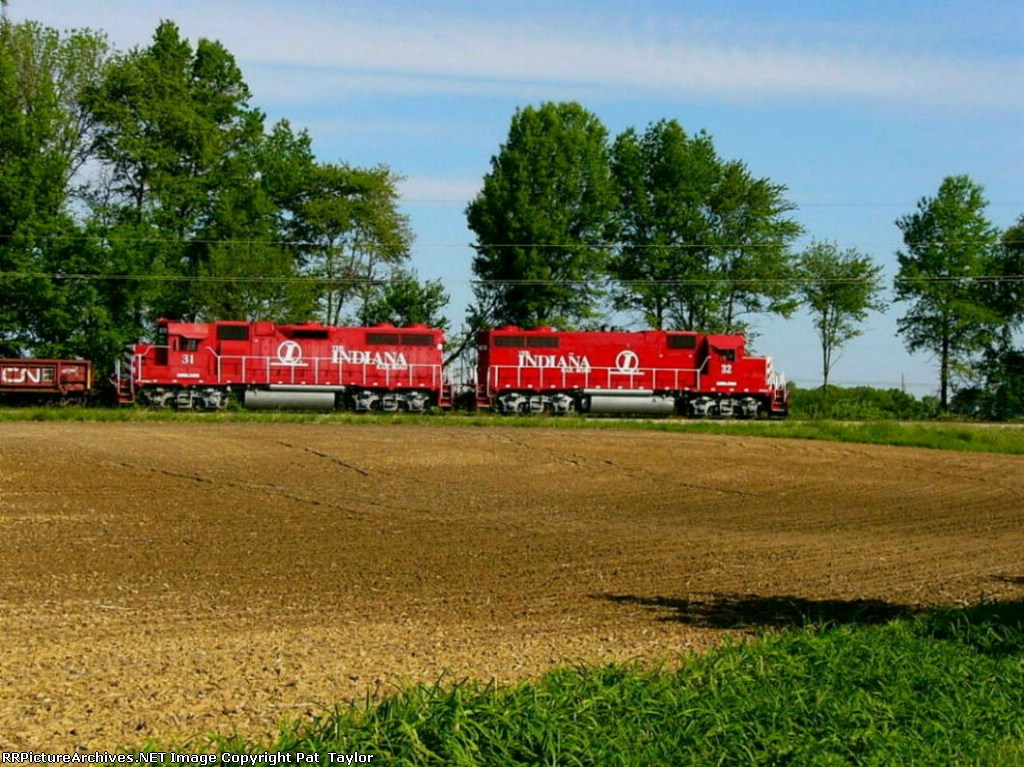 INRD 32 and 31 at Hoosier Junction