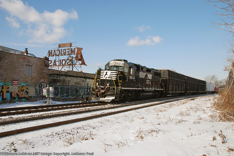 NS H82 at the Soda switch