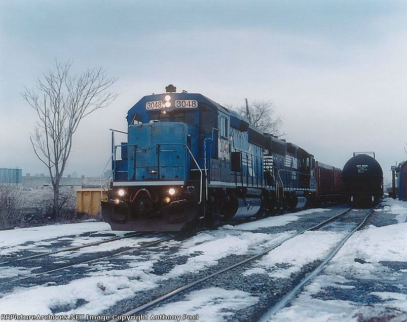NS H84 in the snow