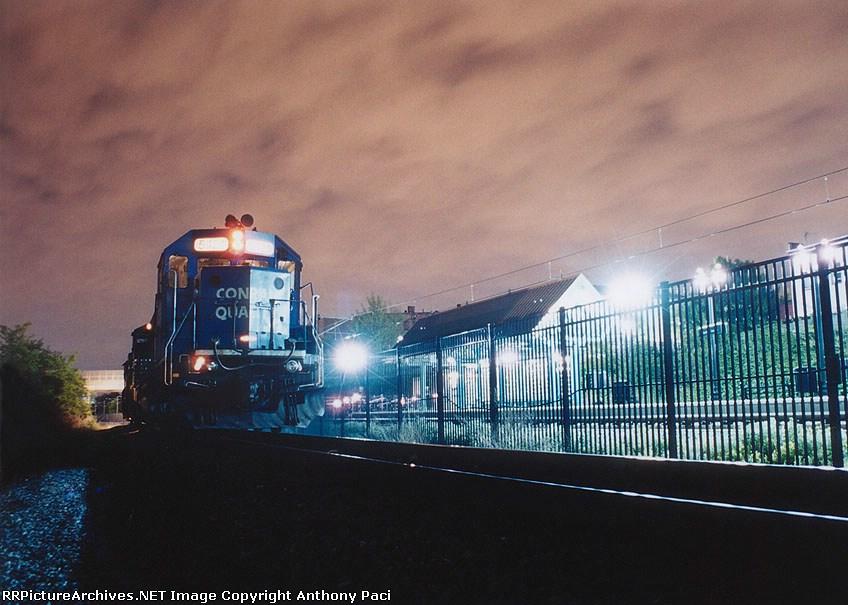 Passing Danforth Avenue station