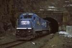 A Conrail veteran at the Bergen Tunnel