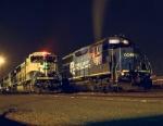 BNSF 9670 & PRR 3018
