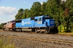 Ex-Conrail and Santa Fe power