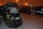 NS 2527 in the snow