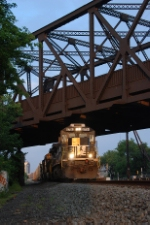 NS 8794 under the Skyway