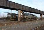 Norfolk Southern SD70 series locomotives