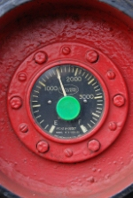 A GP40-2 fuel gauge