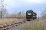 SOU 6631 sitting by the ruins of the CNJ Newark Bay bridge