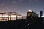 NS 2738 on the Newark Bay bridge