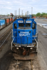 The front of an SD50
