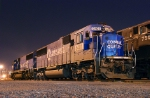 A pair of Conrail Quality EMDs