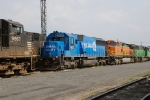Colorful locomotives