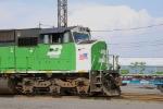 BNSF 8157's cab