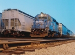 Switching with a former Conrail GP40-2